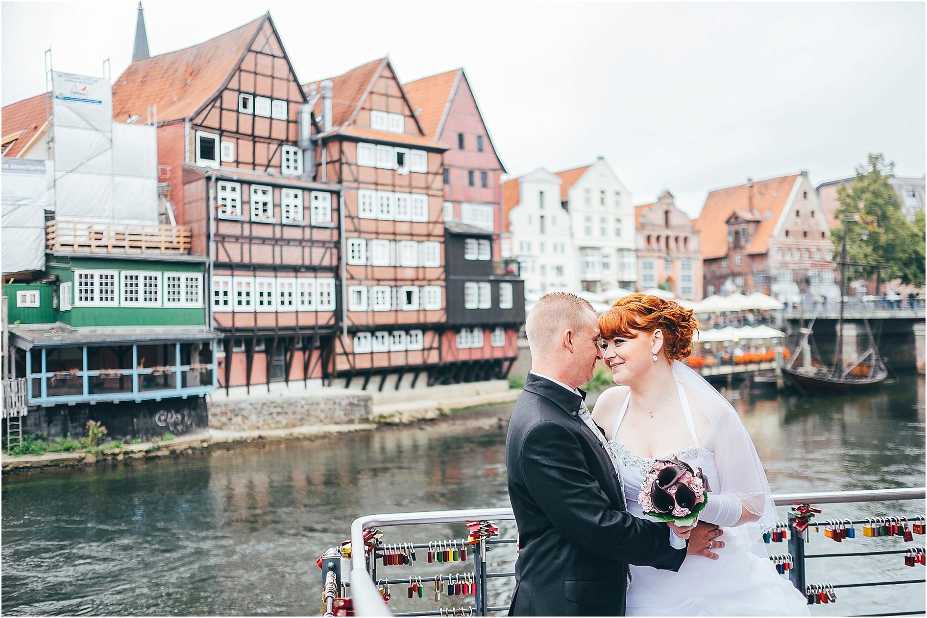 Hochzeitsfotos vom Hochzeitsfotograf Lüneburg am Stintmarkt